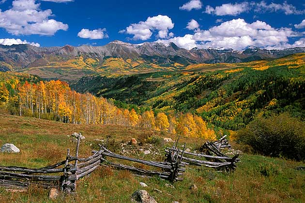 Telluride In Autumn